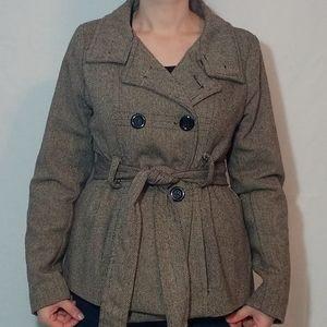 Beautiful woman's wool blend coat!!!
